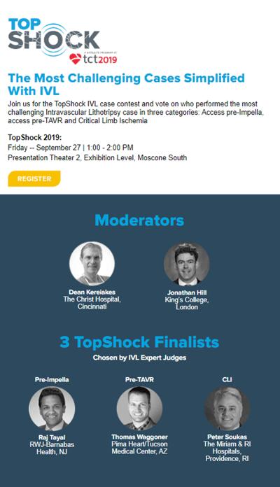 TopShock Symposium Details for Blog Post